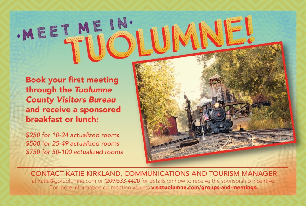 Meet Me In Tuolumne Incentive