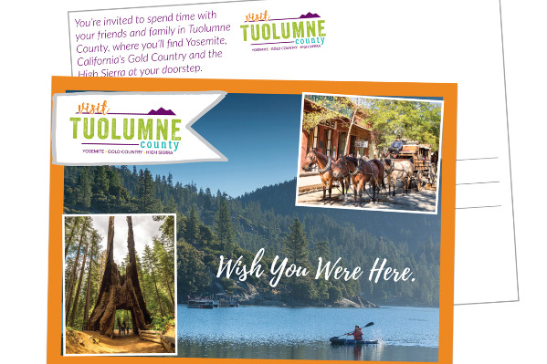 Invite Your Friends and Family to Tuolumne County