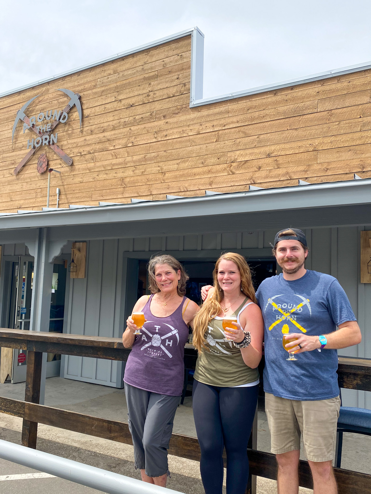 Around the Horn Brewery in Groveland