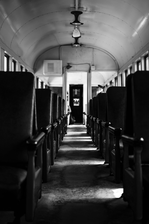 Railtown Train Inside