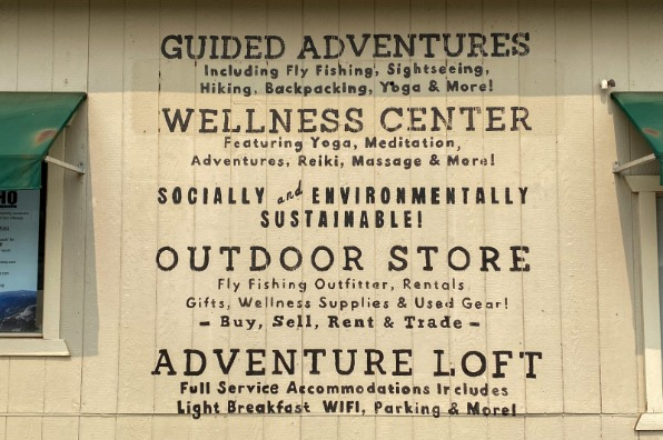 ECHO Adventure Sign in Groveland