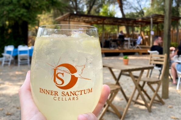 Wine Margarita at Inner Sanctum