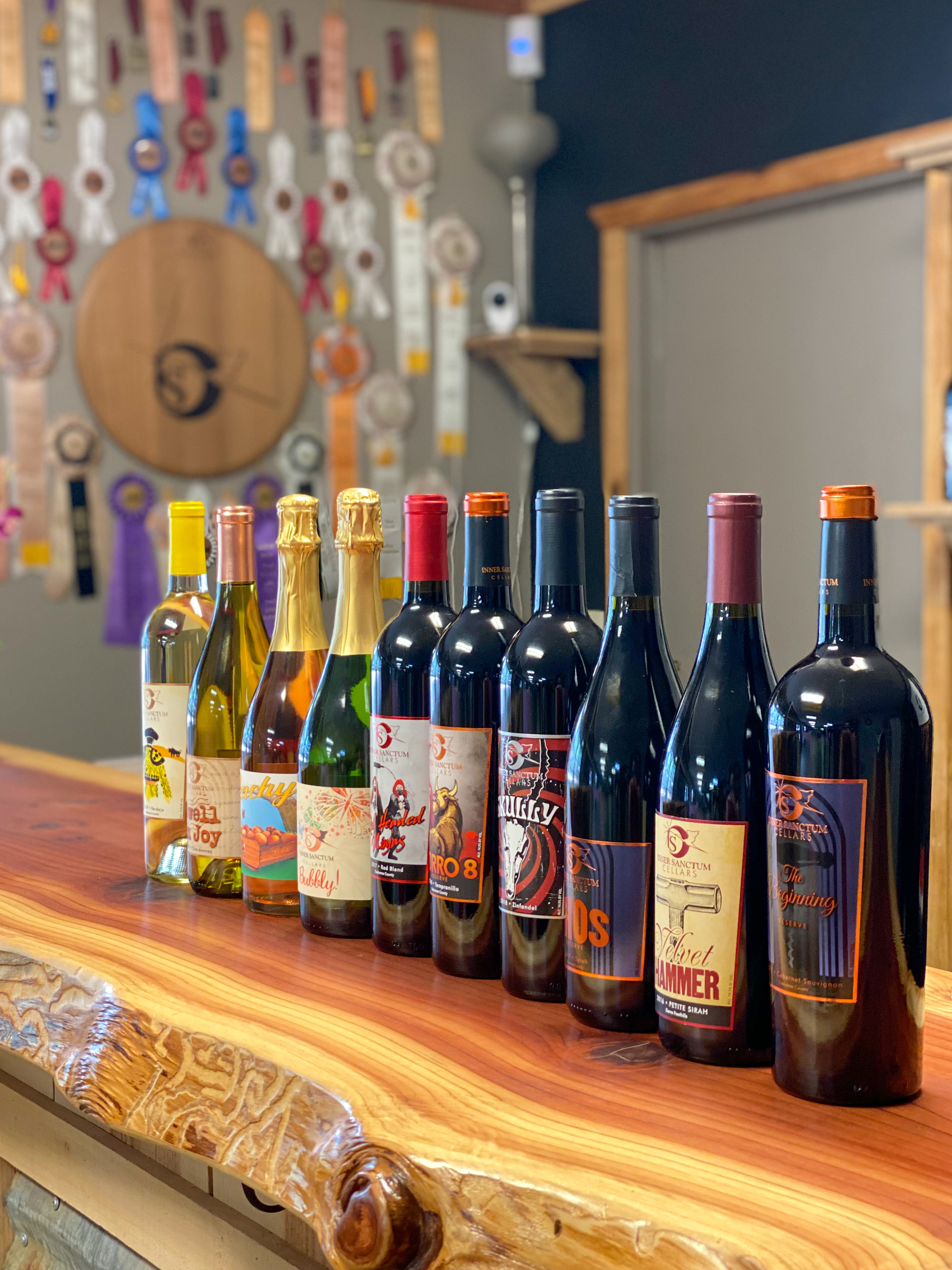 Inner Sanctum Cellars Basecamp Wine