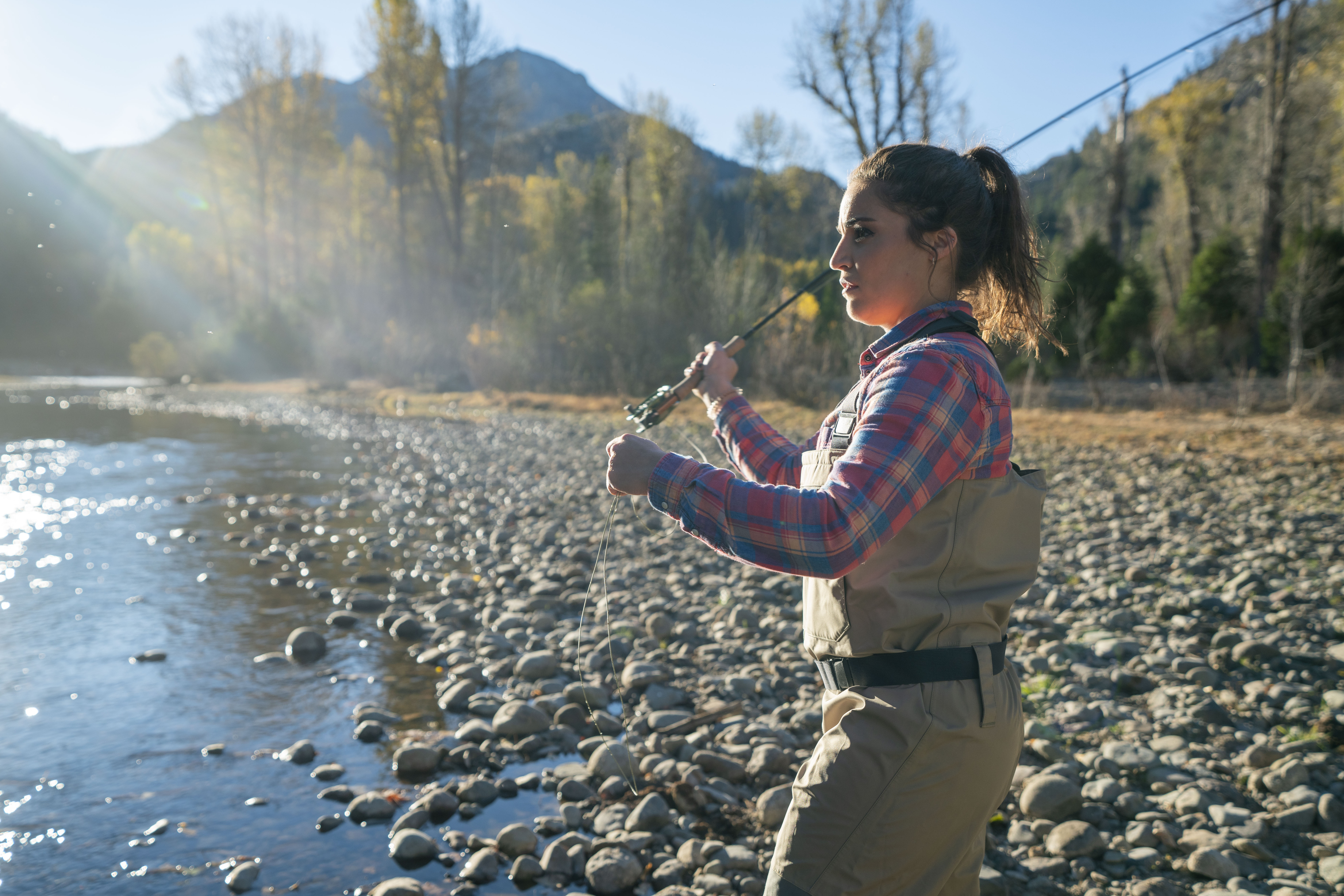 Fly-Fishing at Kennedy Meadows