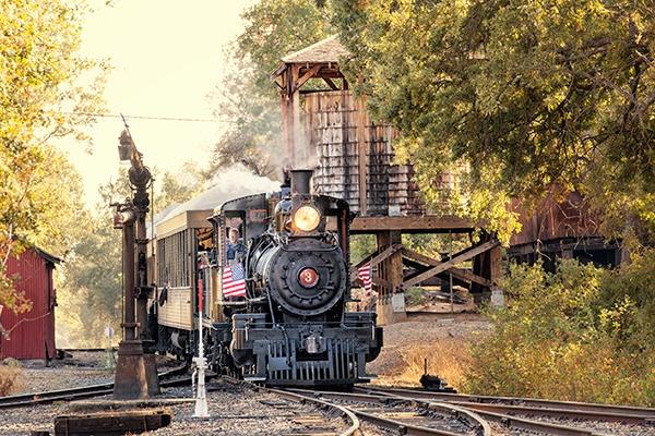 Railtown 1897 Historic Park Jamestown California
