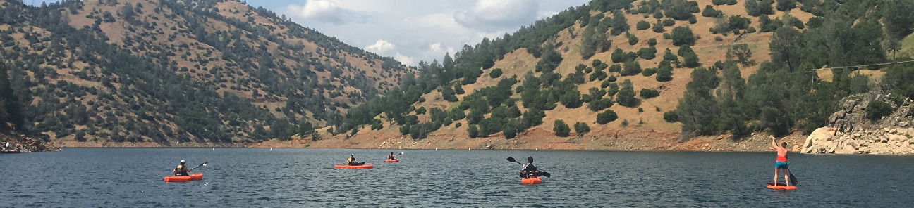 Lake Don Pedro Kayaking
