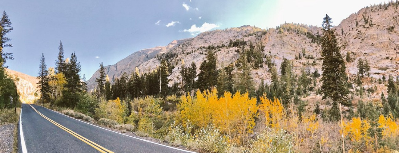 Sonora Pass in the fall