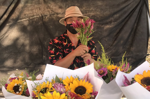 Peaceful Valley Famers Market Flowers