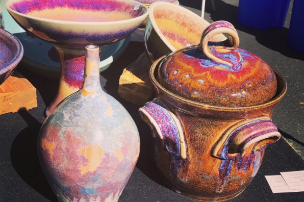 Peaceful Valley Famers Market Pottery