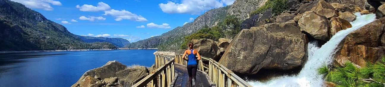 Wapama Falls Bridge, Hetch Hetchy Reservoir