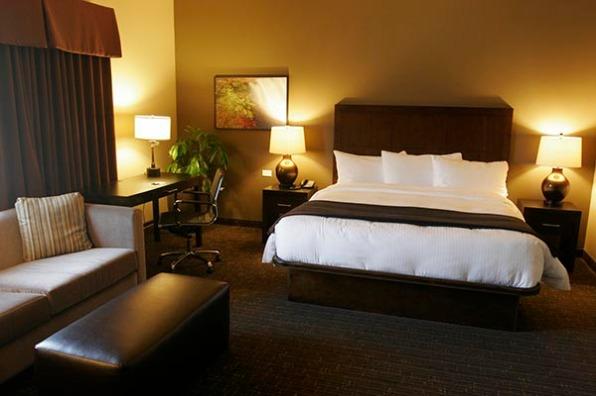 The Hotel at Black Oak Casino Resort Guest Room